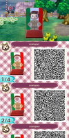 Romano Qr Code by PolkaBerries