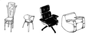 Chair drawings for school by SimonGannon
