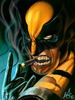 wolverine rock en roll by wizyakuza
