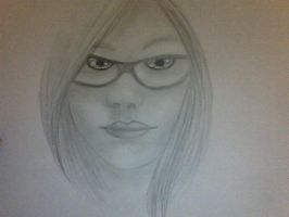 A sketch of my best friend in the world =) by Mishaila