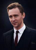 Tom Hiddleston - Digi-painting by Lasse17