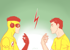 Kid Flash by Kiwa007
