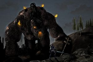 Fight the colossus by Mettalis