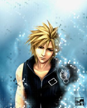 FFVII ADVENT CHILDREN - Cloud by koloromuj