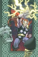 Thor Blood Oath! Cover by KolinsArt