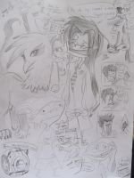 Sketch Compilation by AbductionFromAbove