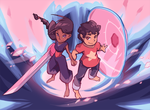 Steven and Connie by BatArchaic