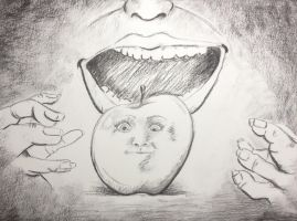 Modified and Blind Contour by allistella