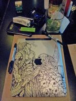Drawing the SkyPad 3 by Iantoy