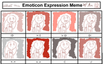 Emoticon Expression Meme With Ani by Mister-Saturn