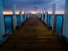 Piers and Jetties Stock - Dromana by cbidgie