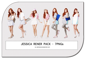 [Render Pack] Jessica SNSD at MF - 7 PNGs by jemmy2000