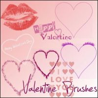 Valentine brushes by CyberRain
