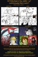 Fall Commissions Prices [Vore, GT, GTS] by MythrilMog