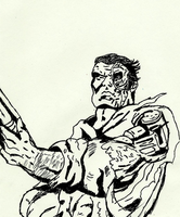 The Terminator Inks by lovefistfury