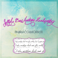 Jellyka Bees Antique Handwriting by PandaComeOreos