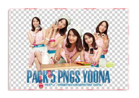 pack 5 pngs  Yoona by taebimon