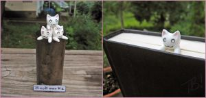 Longcat inspired Bookmark by Tsurera