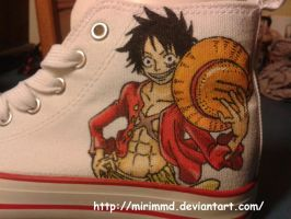 Luffy shoes by mirimmd