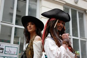 Pirates of the Caribbean Cosplay by xxLuneXx