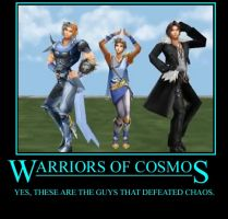 Dissidia - Warriors of Cosmos by TheFavs