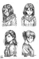 Girls Set by MeganeRid
