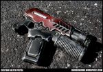 Warhammer 40k Inspired Bolter Pistol by JohnsonArms