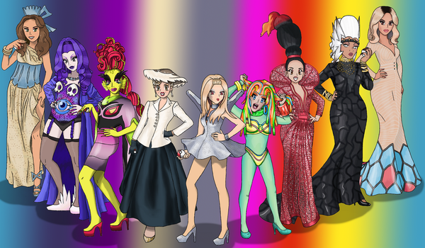 RPDR Gym Leaders by ConnorGotchi