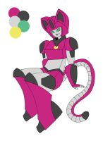 Robot Kitty Adoptable CLOSED by Sweet-Khoy