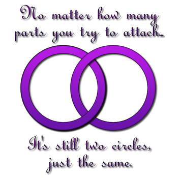 It's Still Two Circles (Alt) by RaidenAndClaire