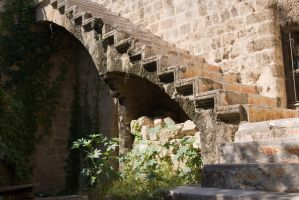 stone stairs by Henrikson