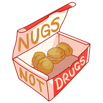 [REDBUBBLE] nugs not drugs by HorseLover741