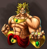 Broly by LordWilhelm