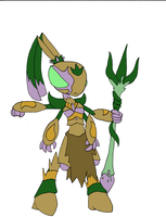 Insectanoid King by Chaos-force