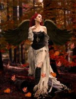 When the leaves are falling by martine8719