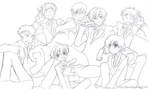 Ouran High School Host Club by aliyanatasha