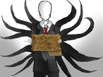 Slenderman The Homeless Man...? by Kurolyte