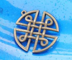 Celtic Knot Shield by dfoley75