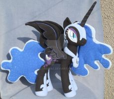 Nightmare Moon plush pony by calusariAC