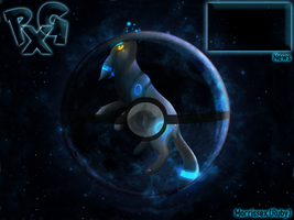 PokexGames Skin: Shiny Umbreon [April] by Morrissex