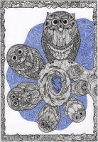 Seven owls by ExScout