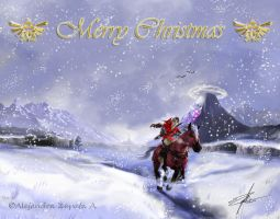 Merry Christmas :zelda: by srs17