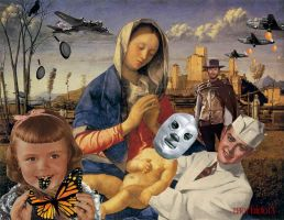 The Birth of The Holy Child - Santo by Morbido13