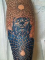 My Leg Session 2 by AndrewShoemaker