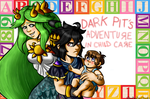 Dark Pit's Adventure in Child Care Cover by xBooxBooxBear