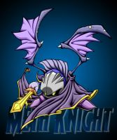 meta knight with bg by pnutink