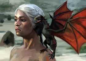 Mother of Dragons by laurenjacob