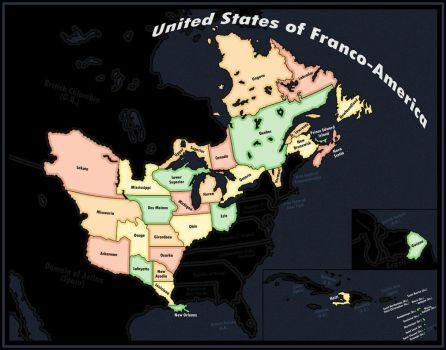 United States of Franco-America Revamped by LaTexiana