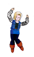 Android 18 DBZ by KaijuBoy455