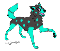 ~WOLF ADOPTABLE!!!~ by N1GHTWOLFXD